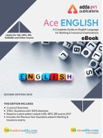 Adda247 Ace English Language eBook for Bank and Insurance Exam Test Preparation