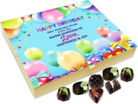 Chocholik Gift Box - On This Birthday May Your Day Be Filled With Sunshine Chocolate Box - 20pc Truffles