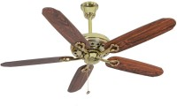Usha Hunter Savoy Bright Brass 1320 mm 5 Blade Ceiling Fan