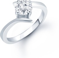 Meenaz Glamstar Solitaire Alloy Ring